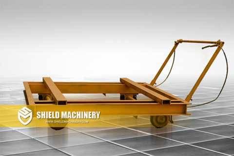 Brick Making Machine Track Car