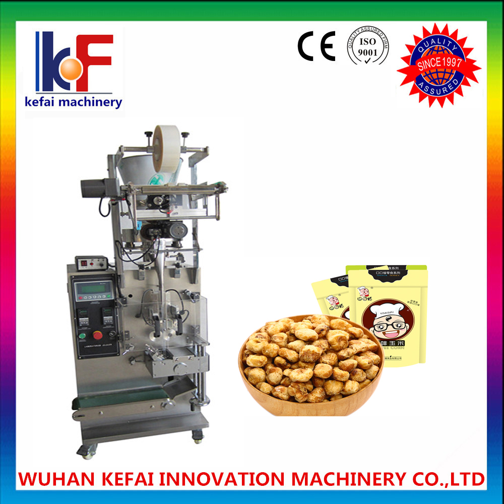 Pouch forming filling sealing machinery/plc automatic granule coffee spout pouch filling machine