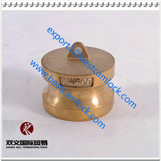 High Quality forged brass camlock couplings Type DP