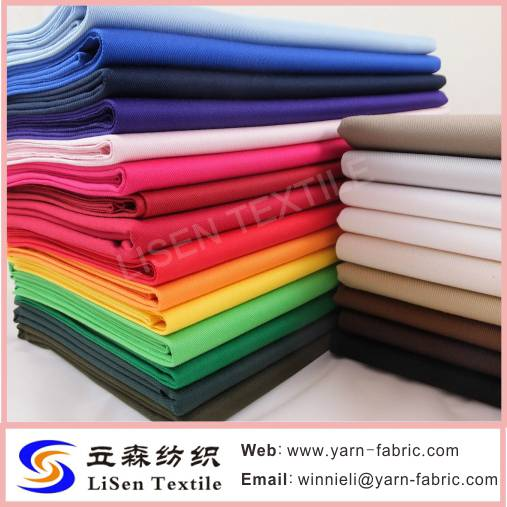 CVC 60/40 45Sx45S Cotton blended suiting fabric