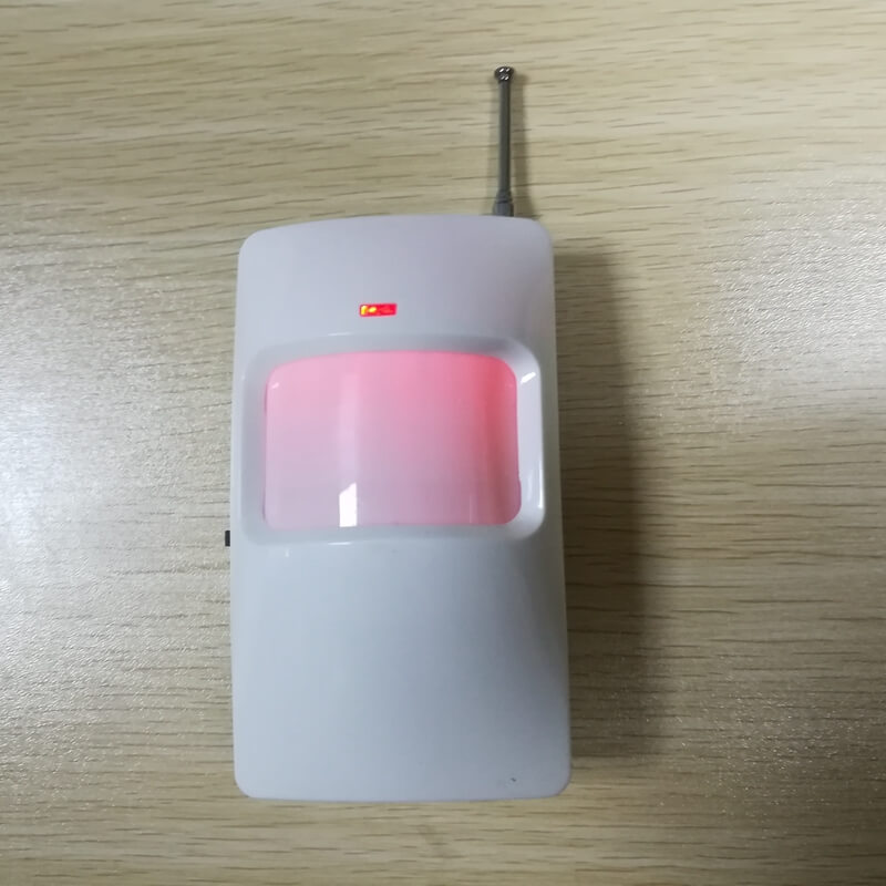 Battery operated pir active infrared motion detector sensor de movimiento 433mhz
