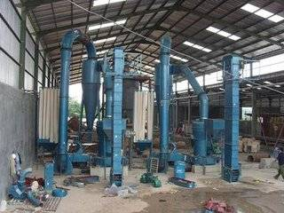 Gypsum powder production line manufacturer