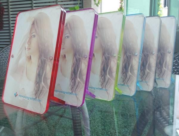 New Style Acrylic Photo Frame , colorful acrylic photo frames , acrylic Sex girls photo frame 2015