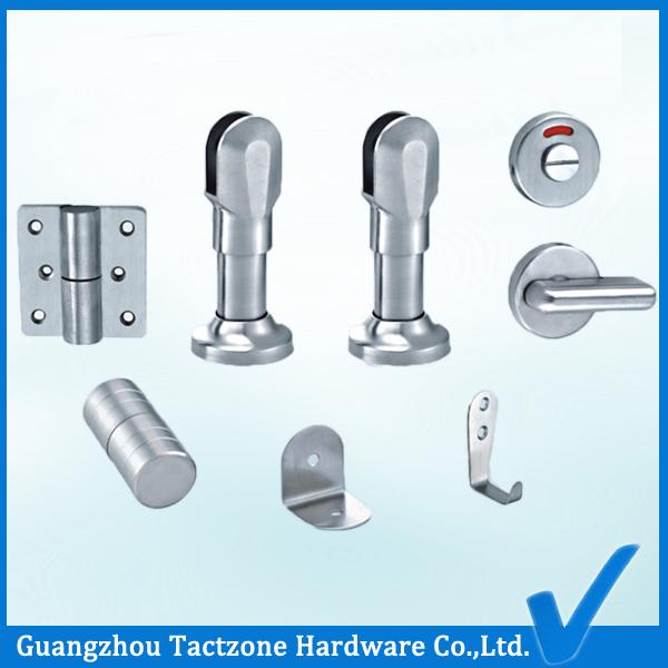 Romantic Precision Casting 304 Ss Bathroom Cubicle Accessories Set