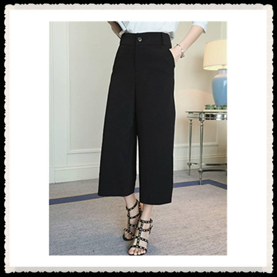 New design 2016 girl's three-quarter pants