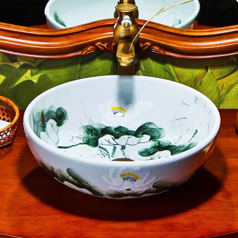 Ceramics wash basin #JON001