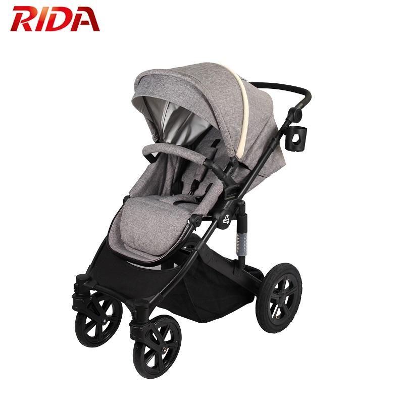 Muti-use High Quality New Born Pram Baby Stroller Luxury 3 In 1