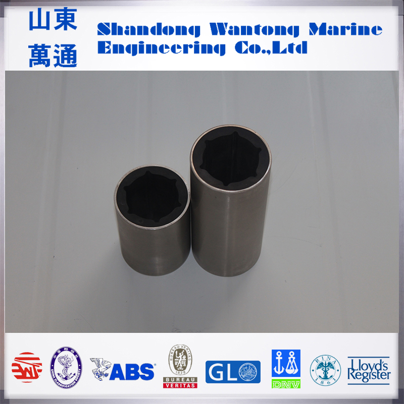 shaft tube bearing copper bushing cutless integral rubber bearing bearing