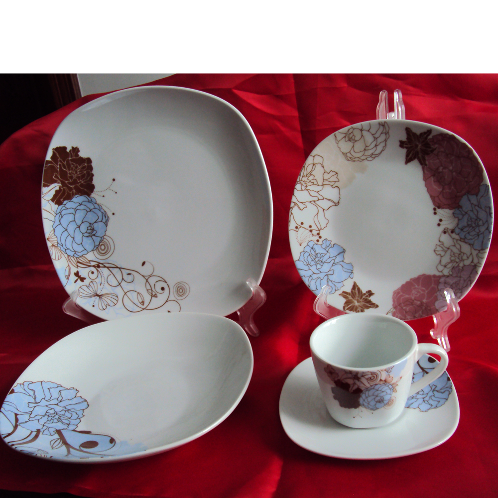 cristamas custom design dinner set
