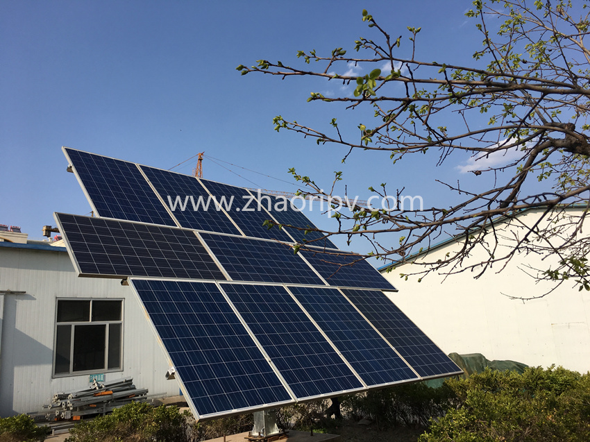 ZRS-11A semi-auto dual axis solar tracking system