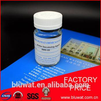 Non Pollution Color Removal Chemical BWD-01 Water Decoloring Agent 50%
