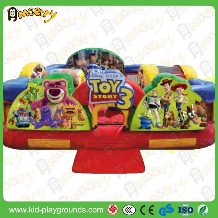 Giant inflatable amusement park ,inflatable fun city, inflatable fun island for kids