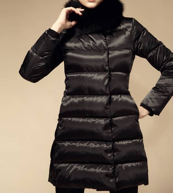 free shipping XXL coat women winter jacket female brand long down leather duck thickening high-quali