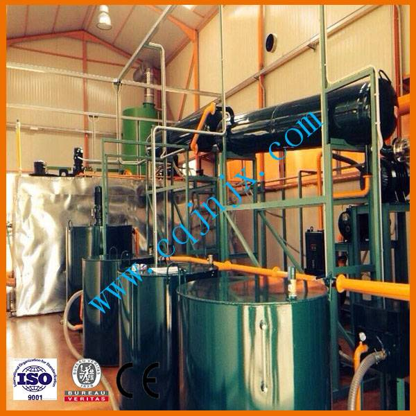 ZSA Waste Lube Oil Recycling Equipment