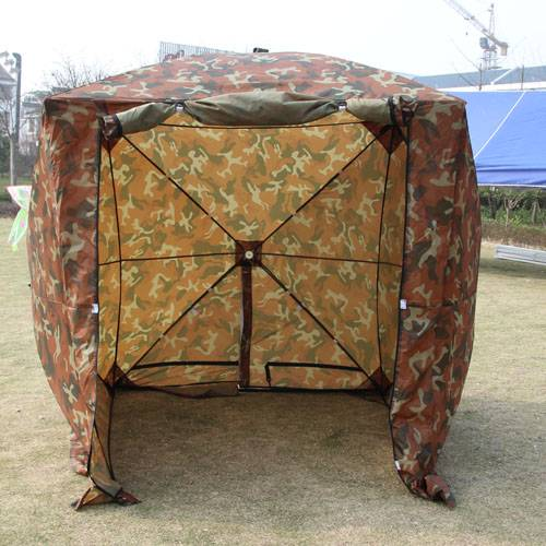 Camouflage Pop Up Work Tents & Shelters For Hunting