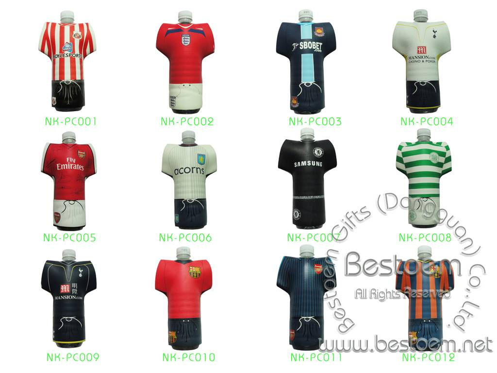 Heat Transfer printed neoprene football kit chillers