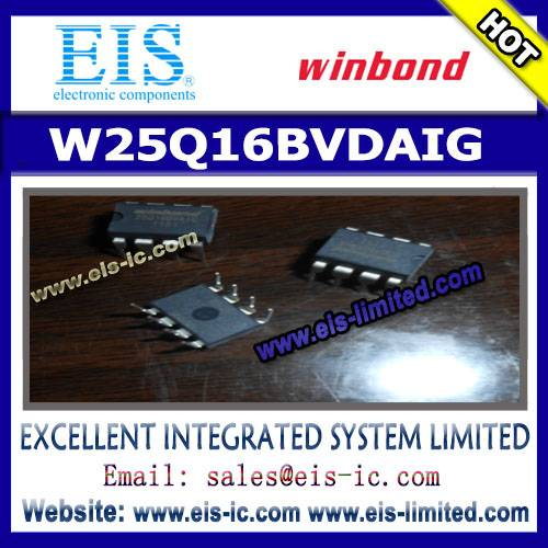 W25Q16BVDAIG - WINBOND - 16M-BIT SERIAL FLASH MEMORY WITH DUAL AND QUAD SPI