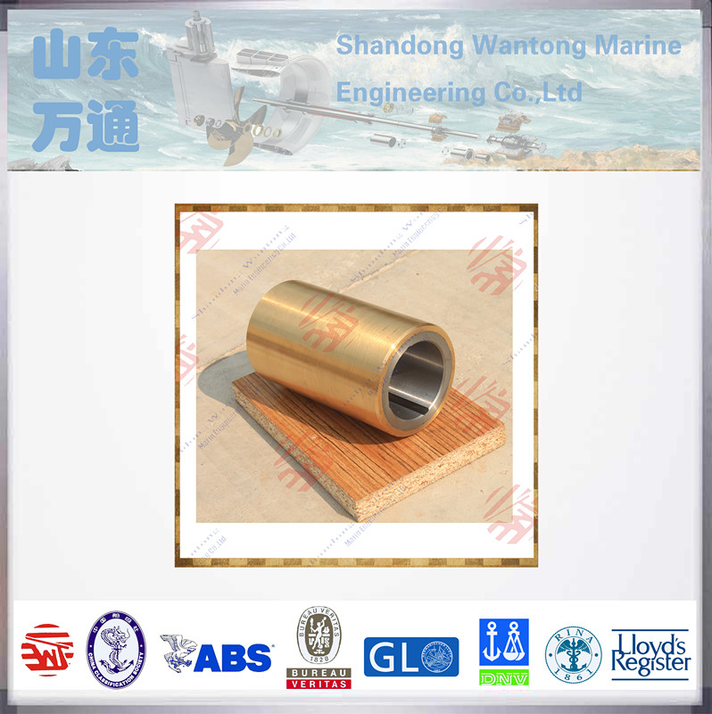 Marine Shaft Copper Bushing Bearing, White Metal Bearing oil lubricated cuttless bearing shipyard