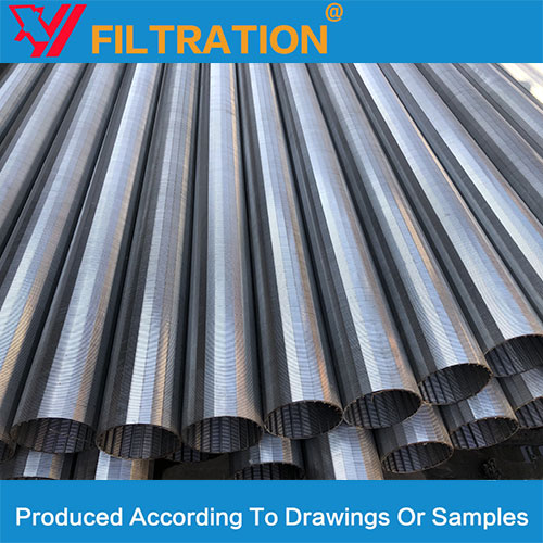 Fine Mesh screens straight looped wedge wire