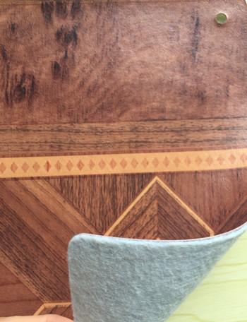 White Felt-Back PVC Flooring