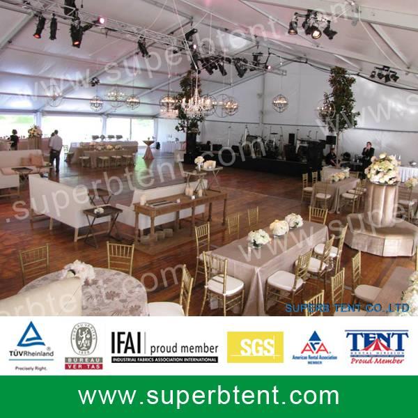 Fancy wedding tente 10x20m