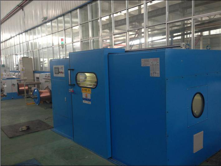 Fuchuan FC-1250B high speed wire bunching machine with high performance