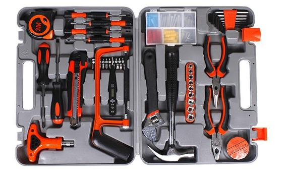 82pcs Hardware Mechanics Tool Set Hand Kraft Mate Tool Kit