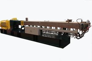 Co-rotating double screw extruder machine plastic for plastic granules