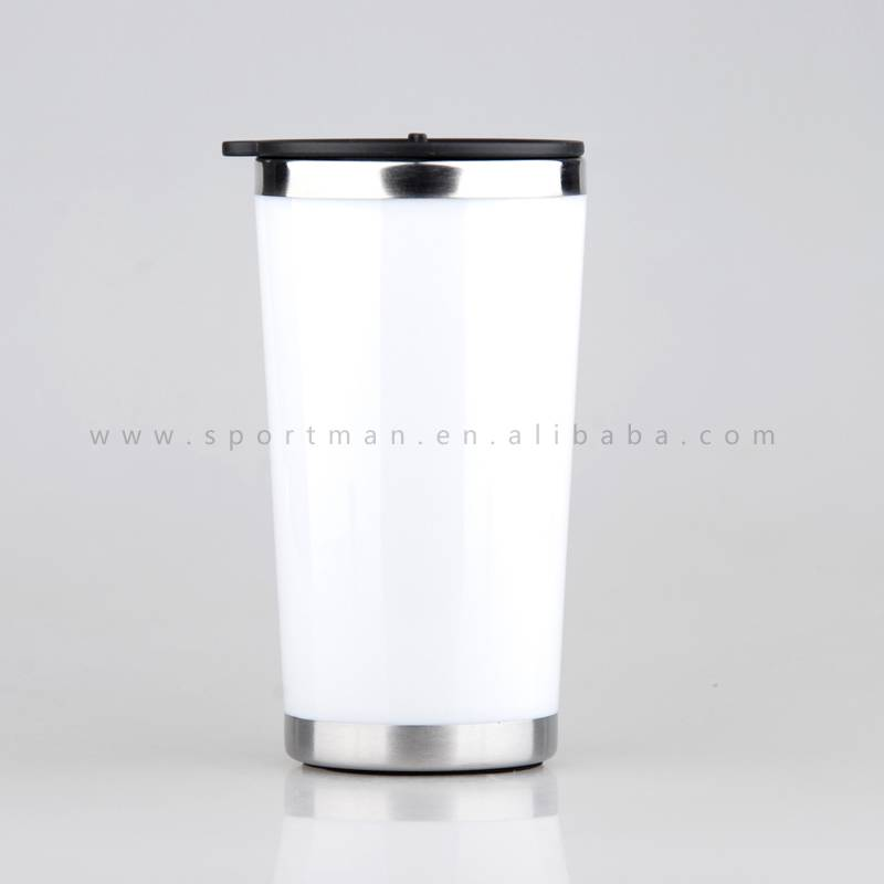 Creative Plastic Travel Mug Car Mug Keep water hot and cold