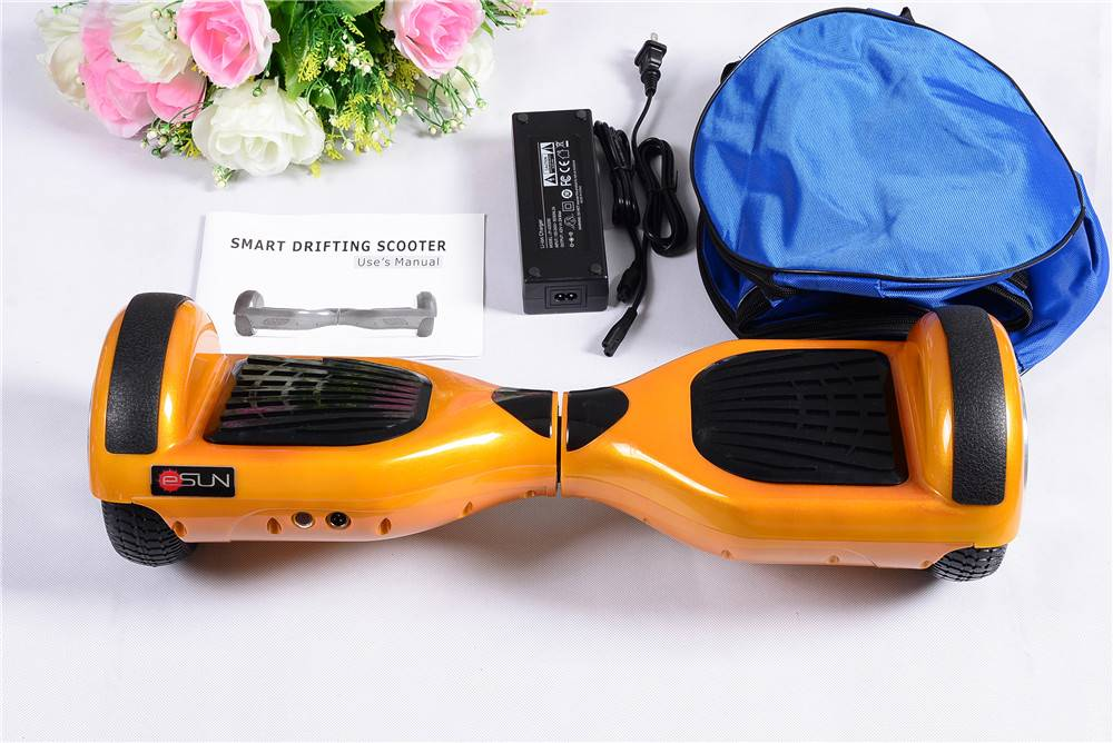 China factory direct sales 6.5 inch two wheels self balancing scooter  with samsung battery and UL c