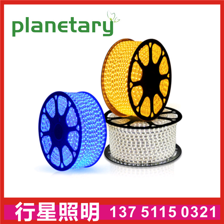 LED high voltage lamp with hotel decoration copper plate double led strip light ac220v driver fre
