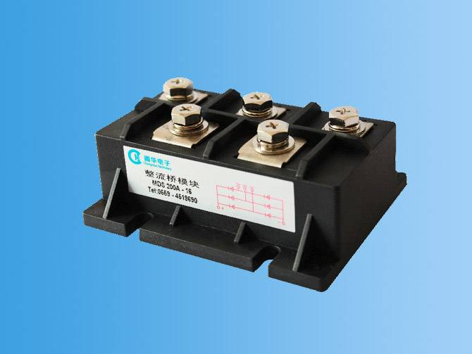 MDS rectifier bridge module