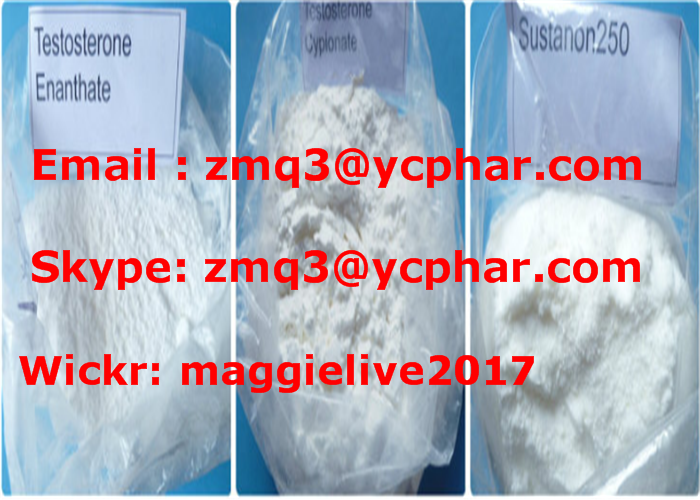 Injectable Anabolic Steroids Testosterone Enanthate 250mg for Muscle Building