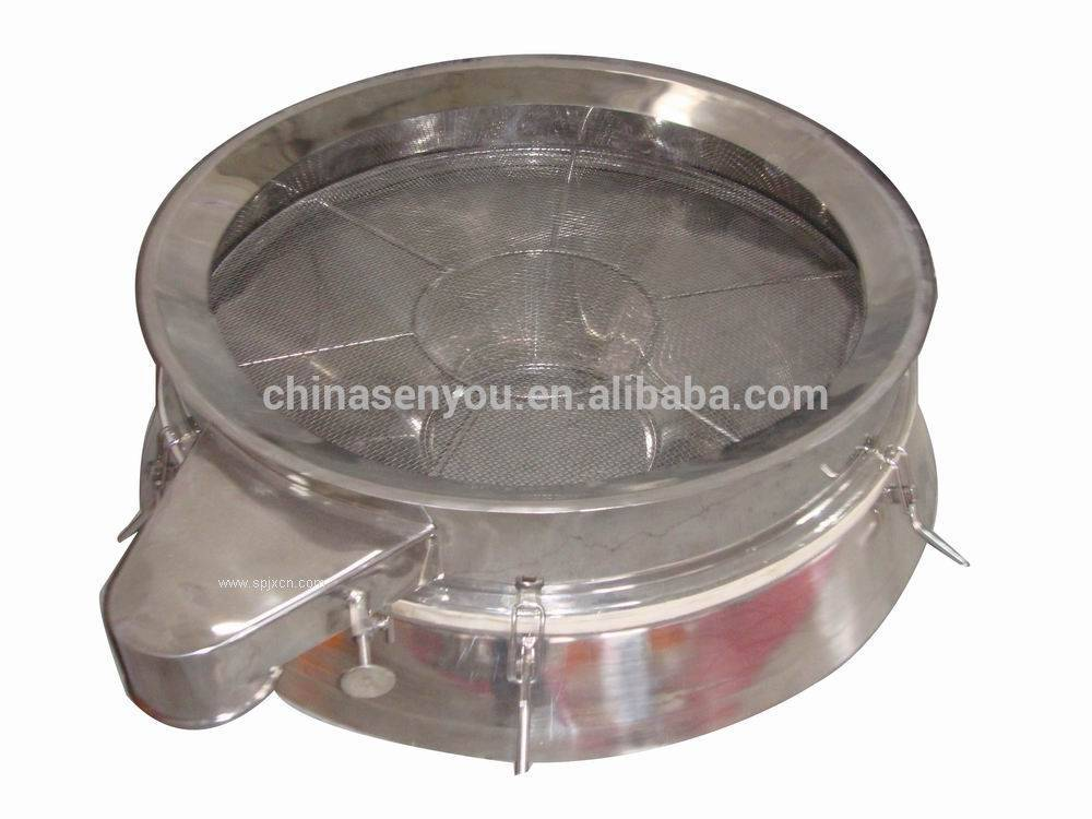 Direct discharge fine sugar screens electric sieve vibrator