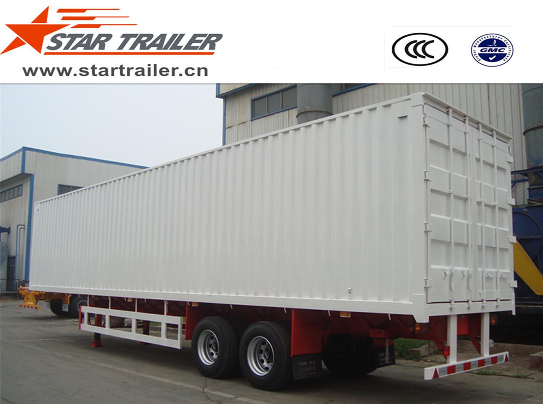 2 Axles Van Type Box Trailer