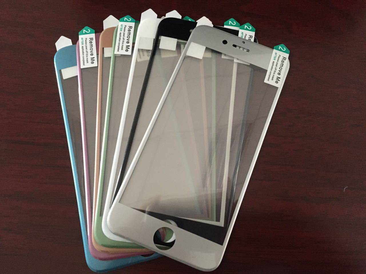 2.5D curved round screen protector for 4.7 inch Iphone 6