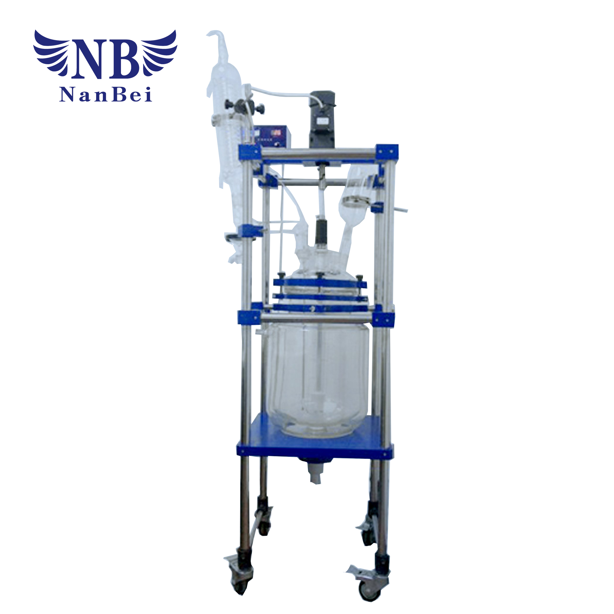Laboratory Single Glass Reactor with Ce