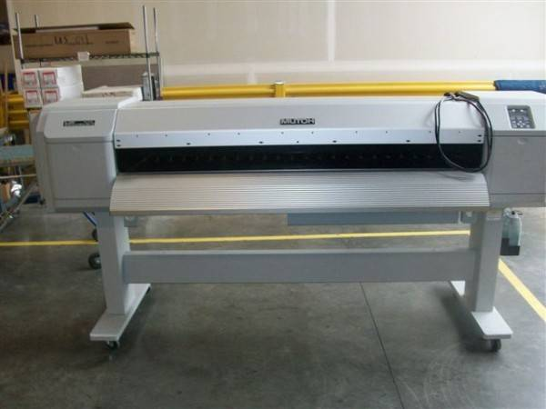 Mutoh ValueJet 1624 Eco Solvent Printer 64 inch