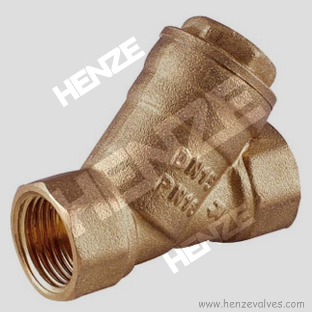 Bronze Threaded Y Strainer