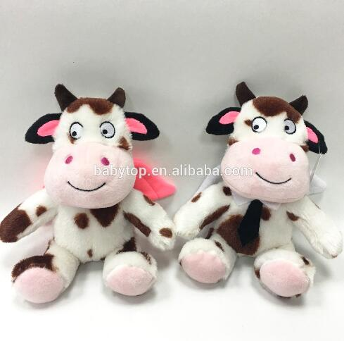 China Popular Baby Angel Cow Soft Plush Stuffed Toy