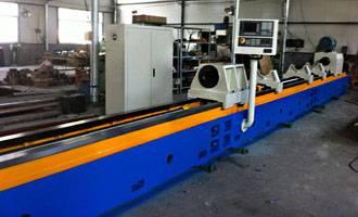 Deep hole skiving roller&burnishing machine