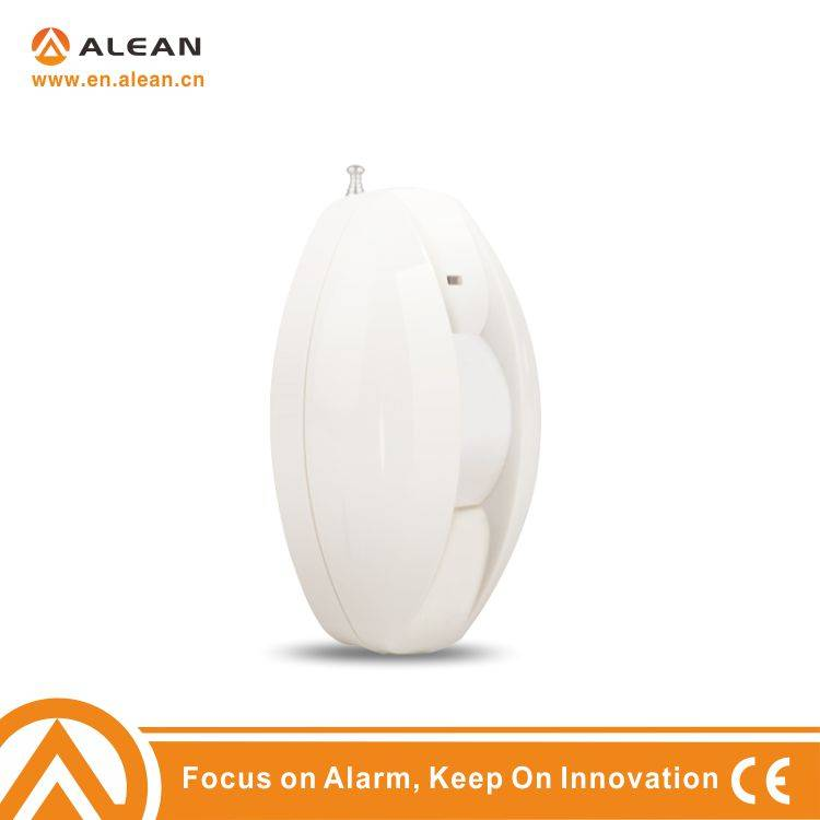 Wireless curtain infrared detector
