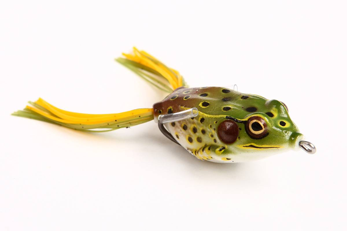 Fishing lure New Hollow Frog soft lure real action