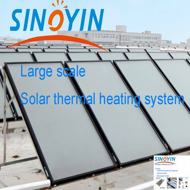 flat plate solar collector of 2.15sqm