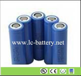 18650 lithium ion cell 3.7V 2200mAh-2500mAh