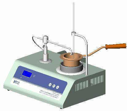 flash point and fire point tester of petroleum products (with Cleveland cup method)