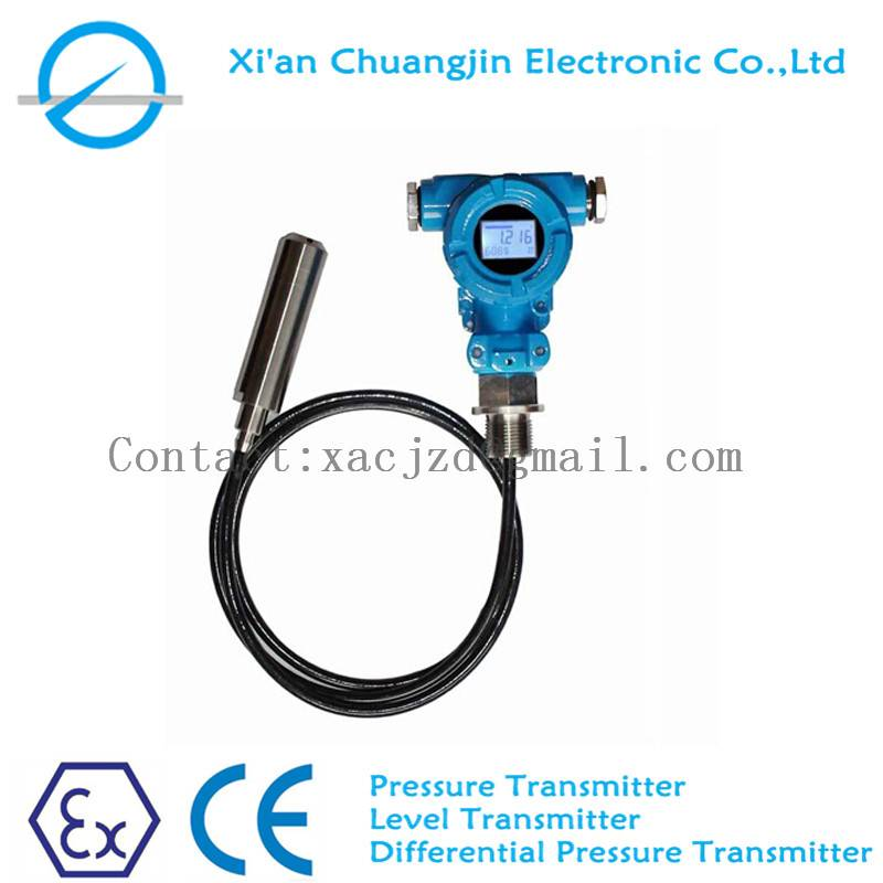 Submersible Water Level Sensor Level Transmitter With 4-20mA and Cable length