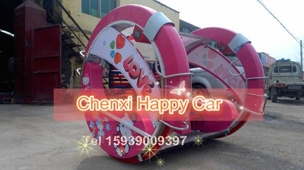 China Amusement Customer Mover Rides Happy Swing Racing Car for Family and Party
