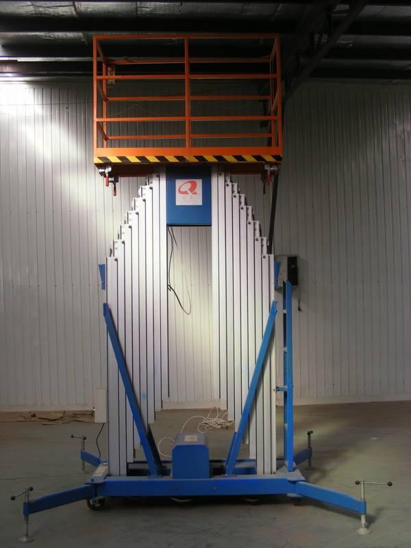 aluminum alloy hydraulic lift platform QT-AHY2