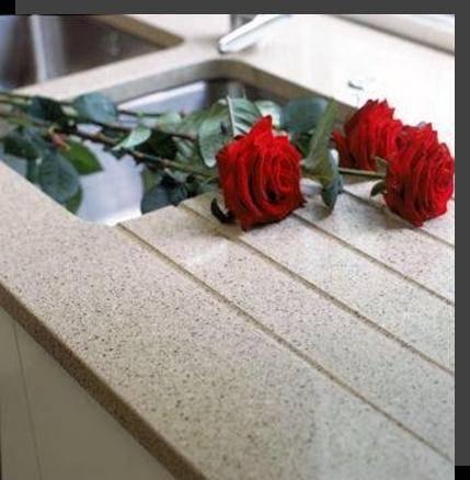 Acrylic Stone Panel for Kitchen Worktop
